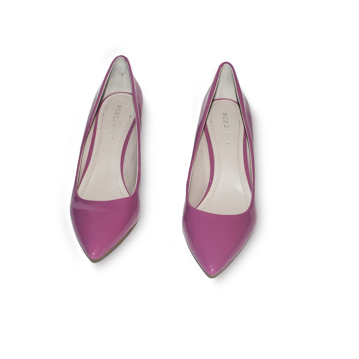 Pink Patent Leather Shoes