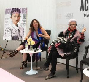Norma Kamali vintage intermezzo, lauren parker, iris apfel