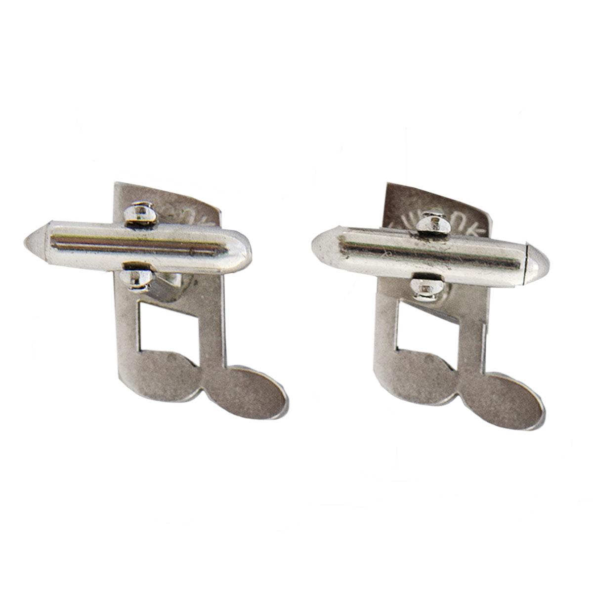 silver swank cufflinks