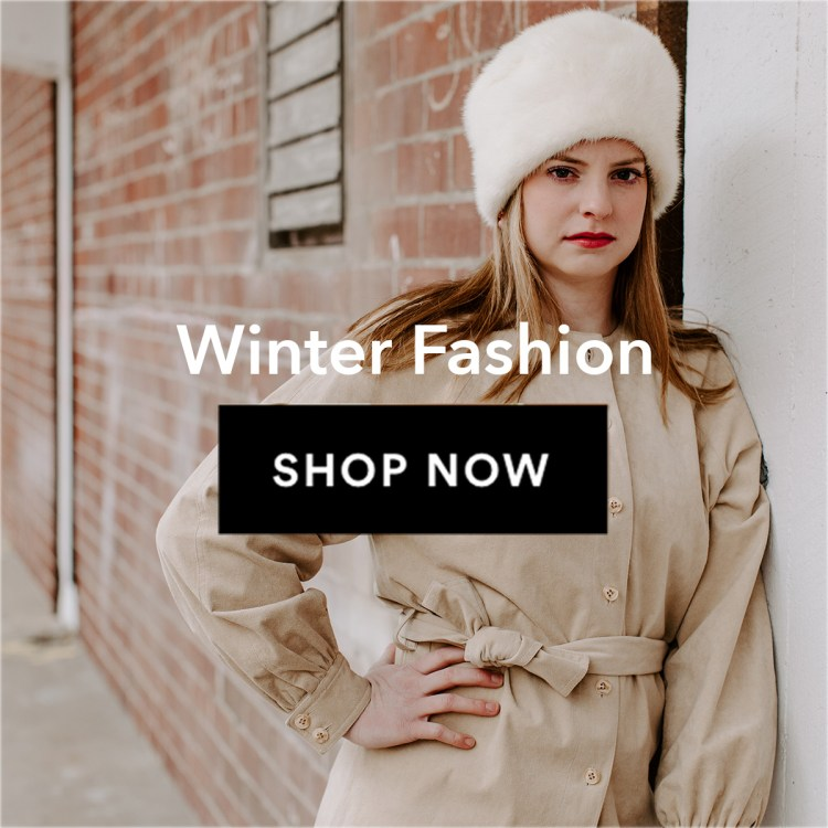 Vintage winter fashion