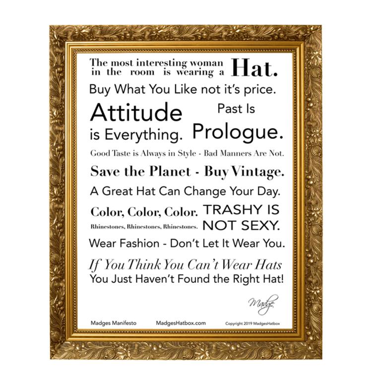 Madges Fashion Manifesto