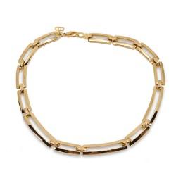 Christian DIor Link Necklace