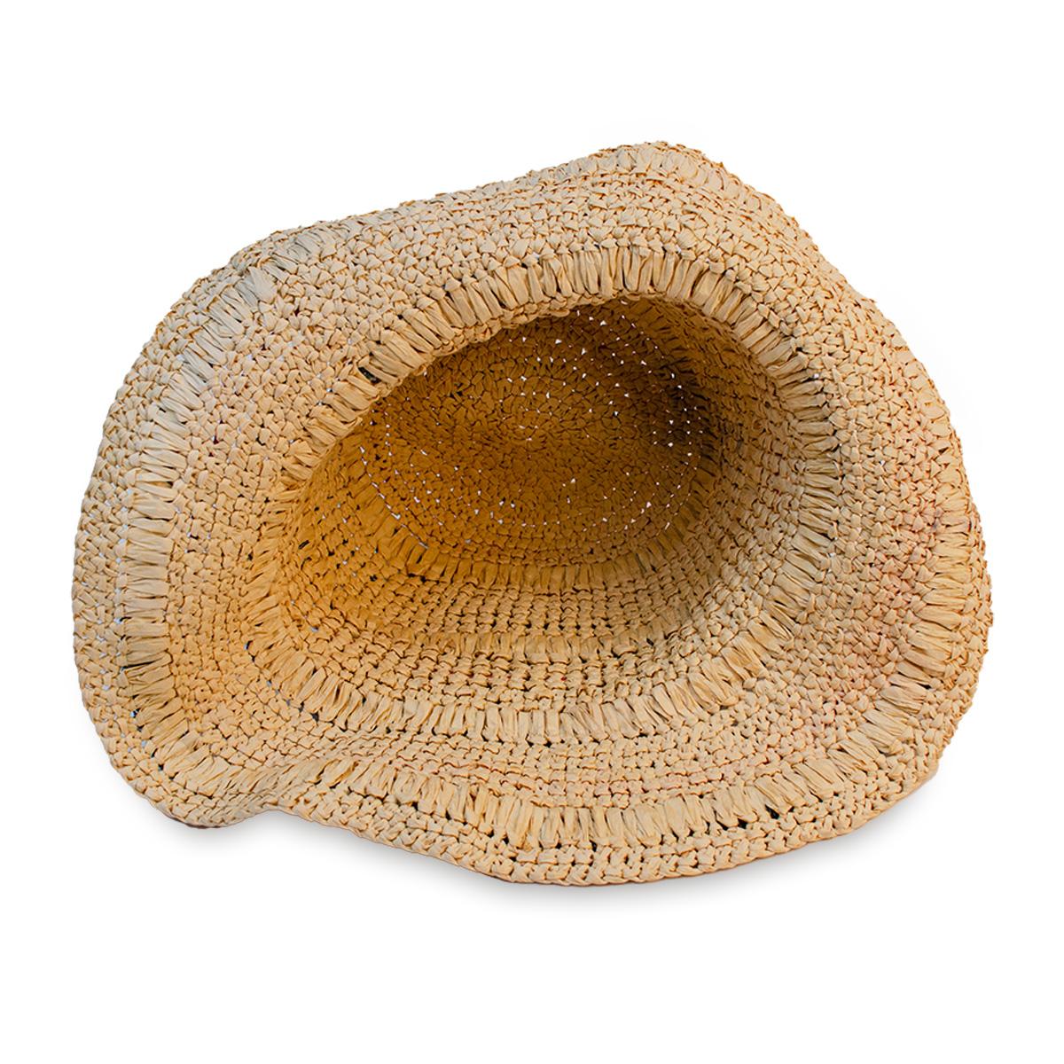 big floppy straw hat