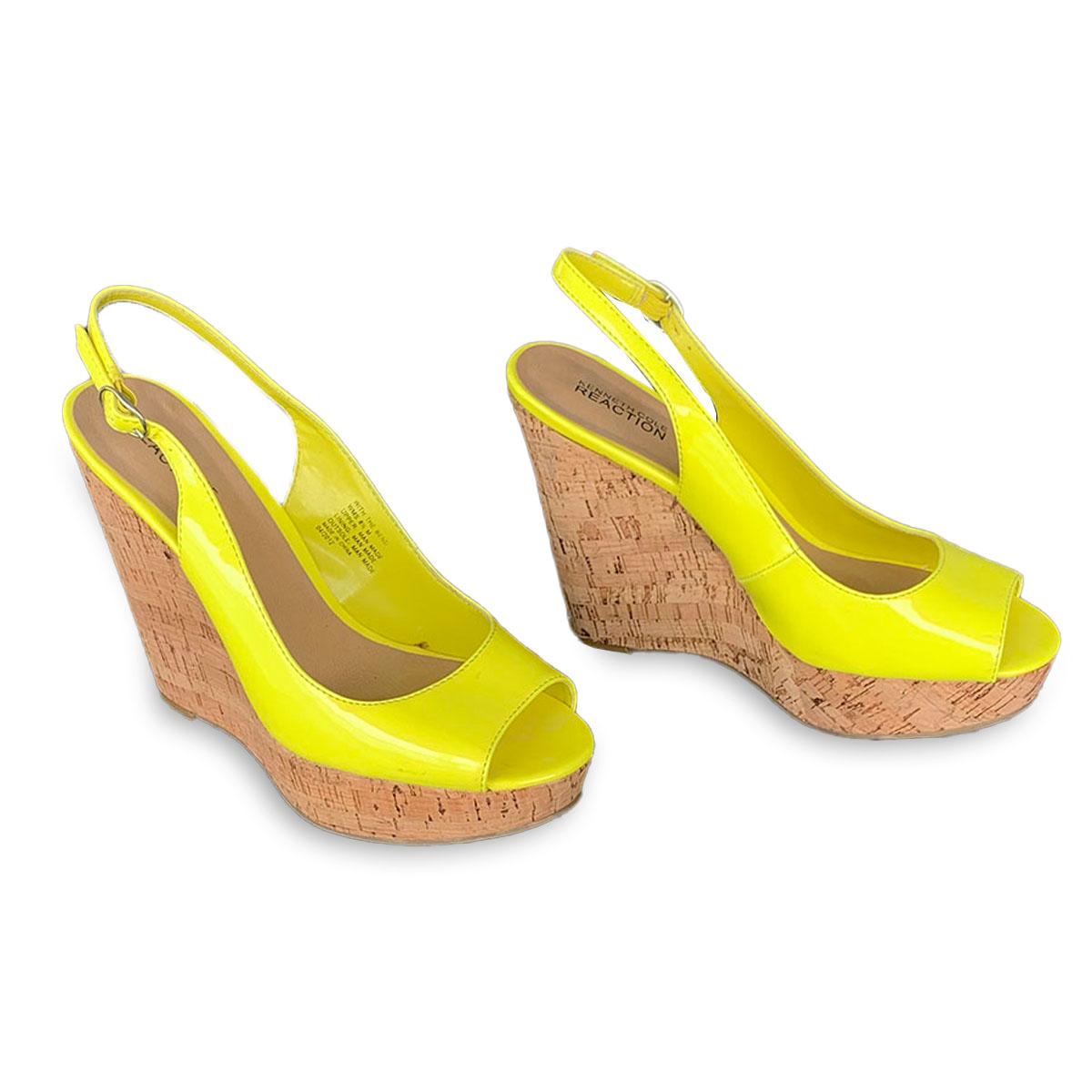 cork wedges, Kenneth Cole