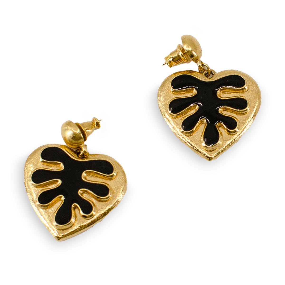 YSL earrings, matisse jewelry