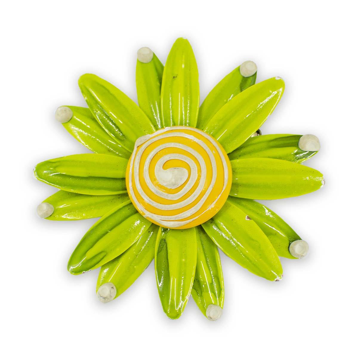 large flower pin