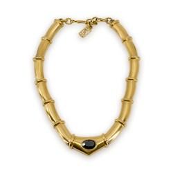 YLS gold link necklace