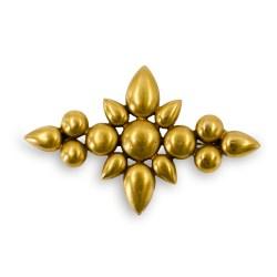 YLS gold pin