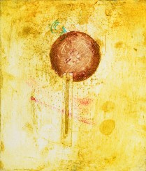 A Barometer for Addiction, 2017; collagraph, engraving; 8 x 10 inches