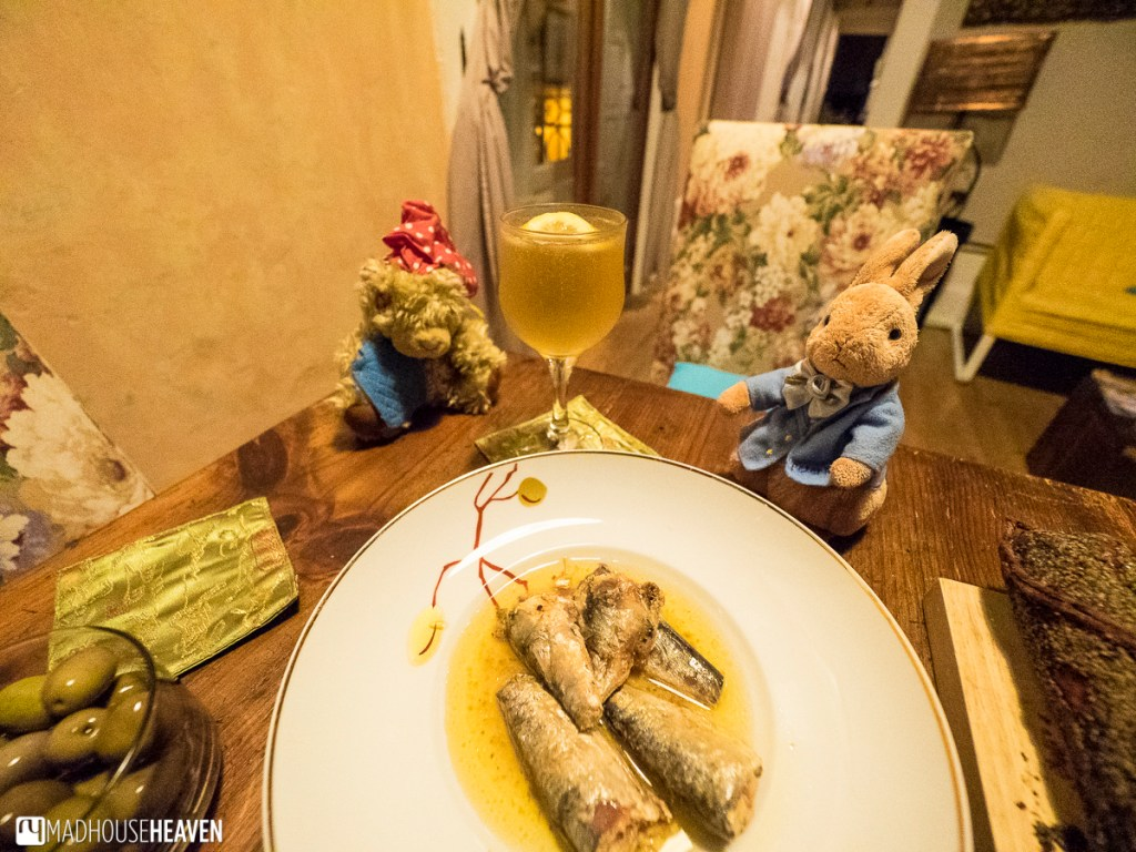 Sardines from Saboriccia, Peter Rabbit on Holiday, Porto Where to Eat and Drink