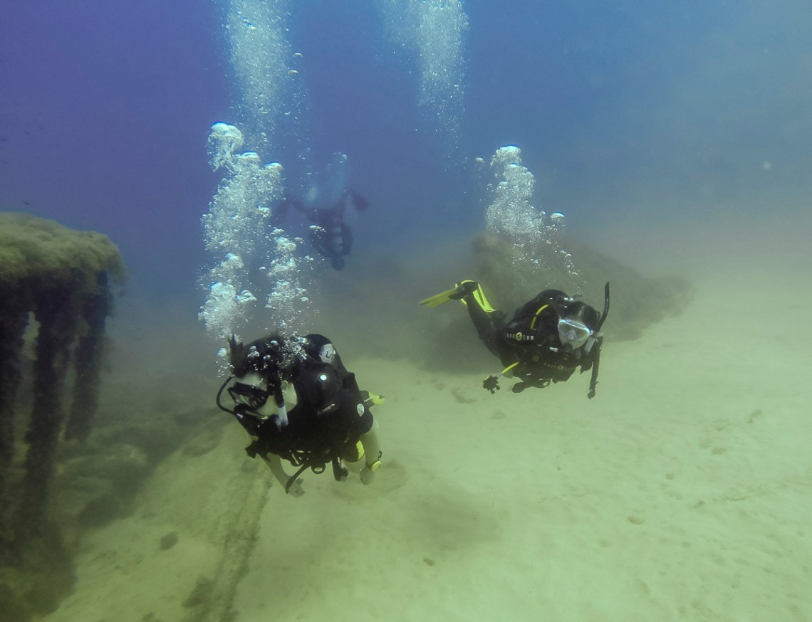 Malta diving, MV Dori, wreck dive