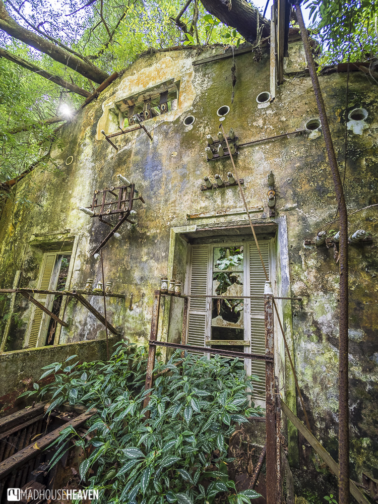 azores sao miguel abandoned power station