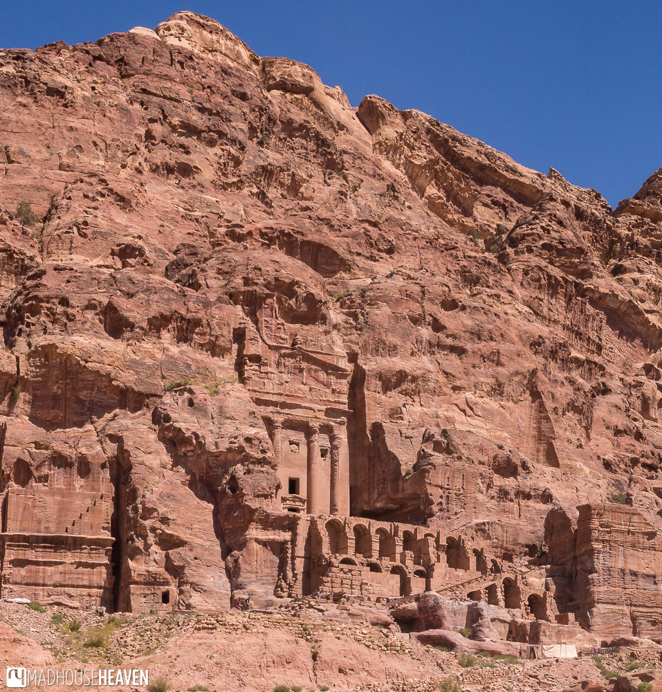 A full view of the Urn Tomb of Petra