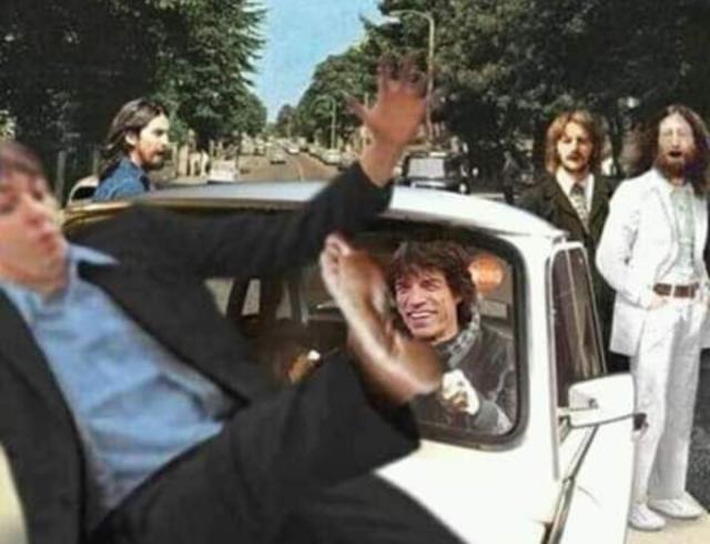 Mick Jagger Wreaks Havoc During Beatles Abbey Road Photoshoot Madhouse Magazine