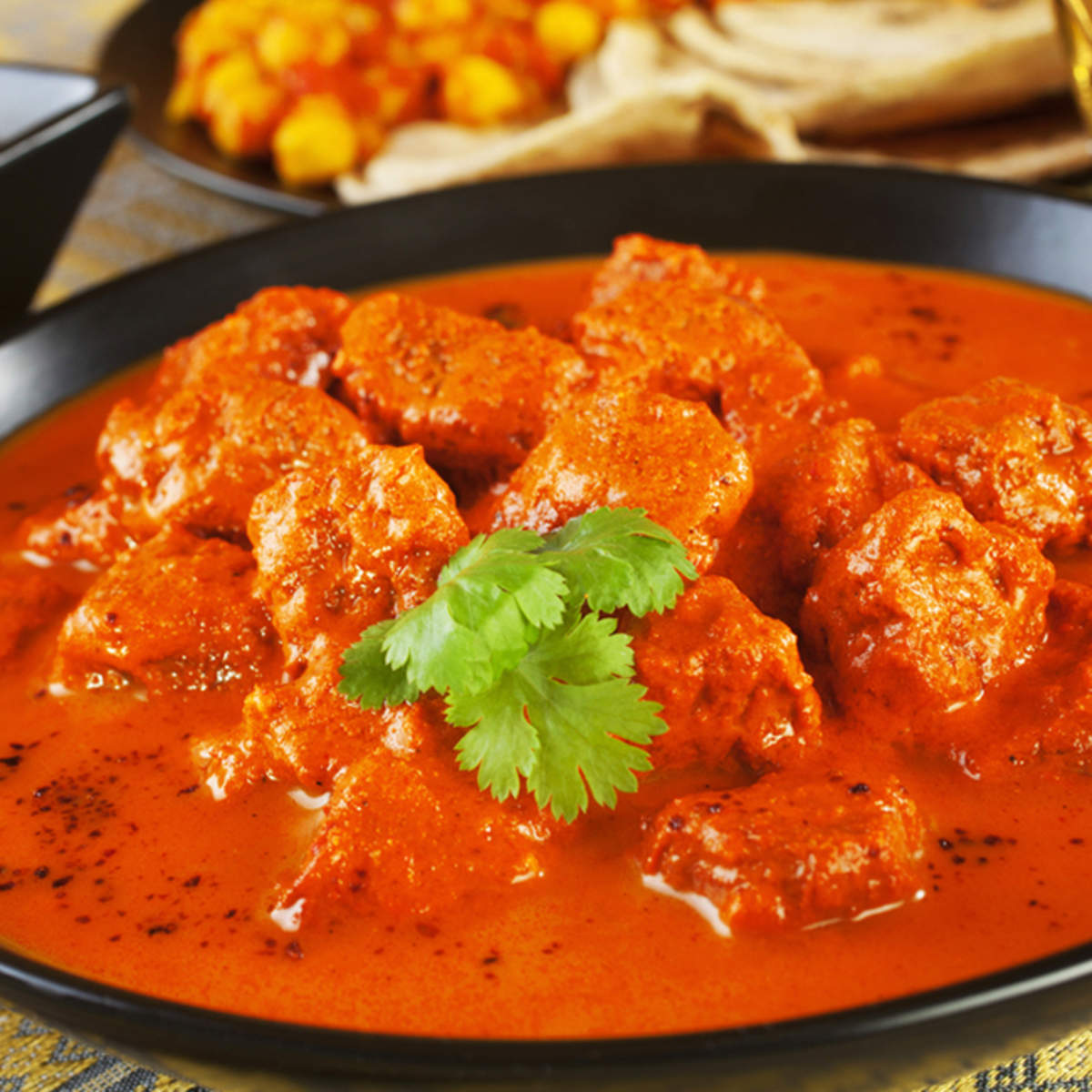 Kashmiri Curry made with Madhuban Korma Sauce