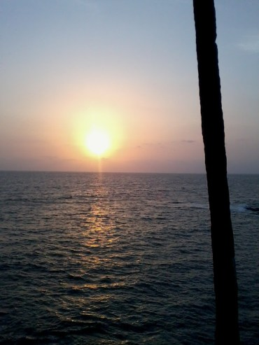 Sunset at Anjuna