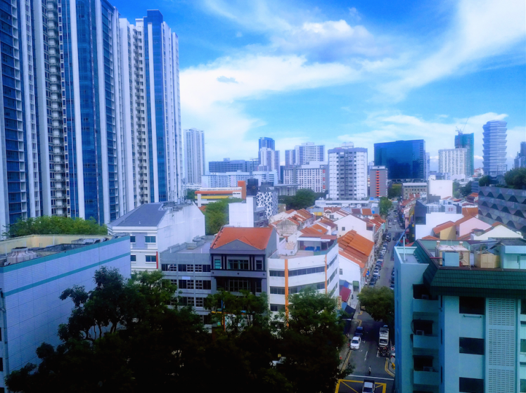 4.view of little India from hotel, Singapore.png