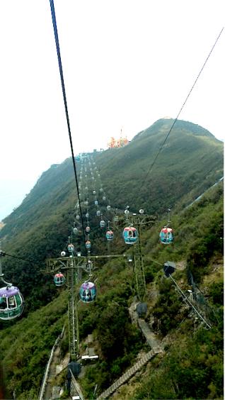 cable car to submit, Hongkong