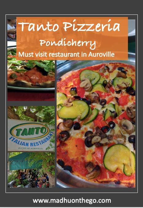 Tanto Pizzeria, Must visit restaurant in Pondicherry .png