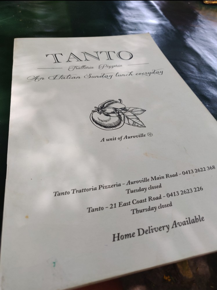 Tanto Pizzeria, Pondicherry
