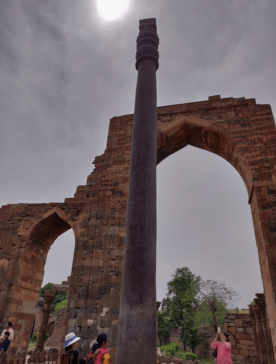 Iron Pillar, Qutub Minar complex, Delhi