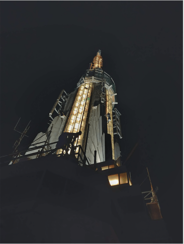 Empire state building crown