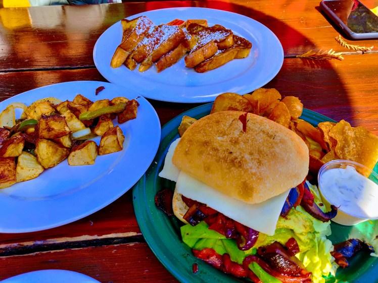 Our meal, Alice's Restaurant.jpg