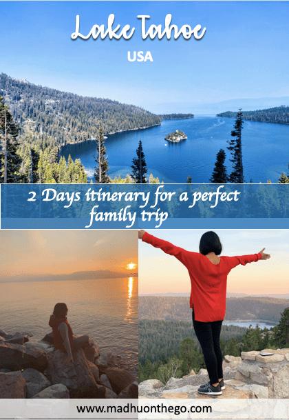 2 Days perfect itenerary to Lake Tahoe