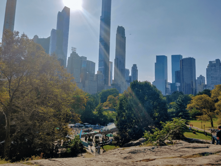 Children's play area, Central Park