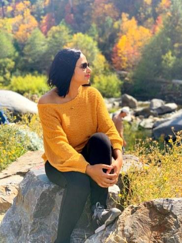 The fall colours, Lake Tahoe