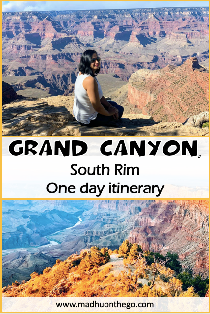 1 day itinrary for Grand Canyon with family