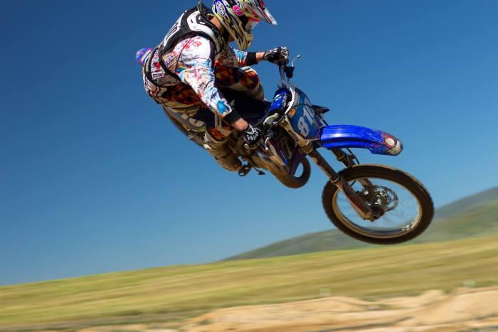 YOLO motor cycle stunt