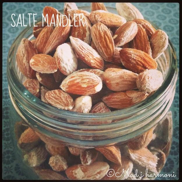 Salte mandler
