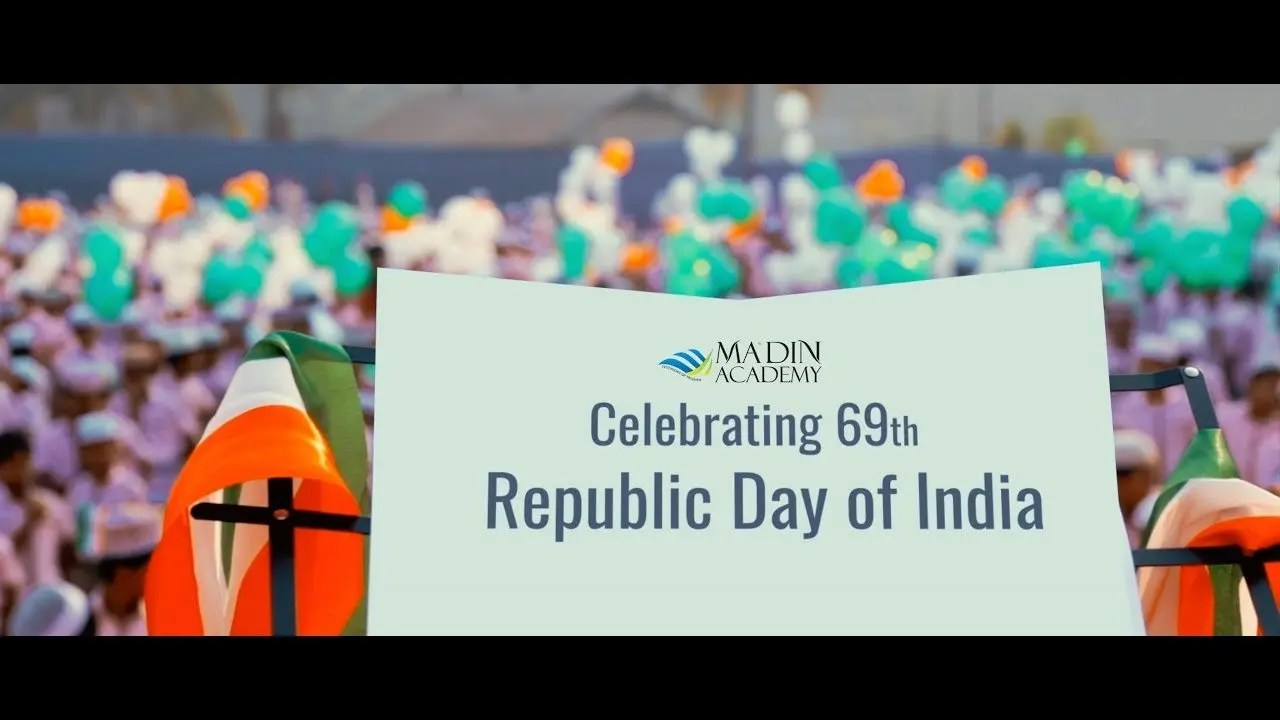 Grand Assembly for Republic Day of India at Malappuram