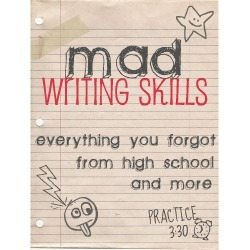 MAD WRITING SKILLS: 10 Most Overused Words in Craft Blogs