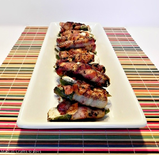 Big Game Appetizers: Grilled, Bacon-Wrapped Jalapeno Poppers