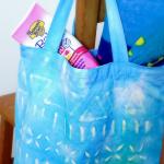 Totes Adorbs: Tie Dye and Crayon Batik Bag