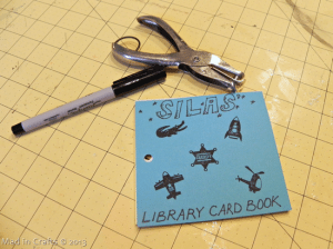 stamped library journal
