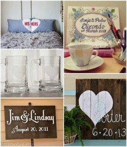 Unique Handmade Wedding Gift Ideas
