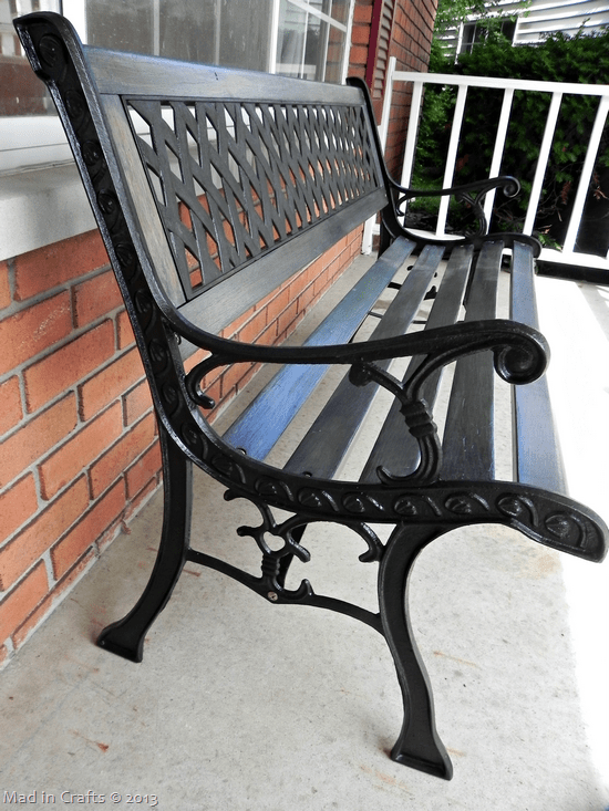 repainted-wrought-iron-bench-support