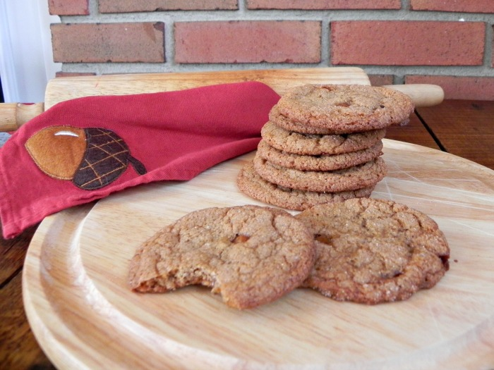 Brown Butter and Salted Caramel Snickerdoodles
