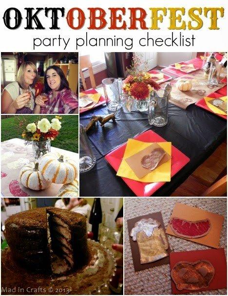 Oktoberfest Party Planning Checklist
