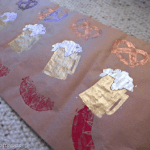 OktoberFEAST: Stamped Runner and Place Cards for Oktoberfest