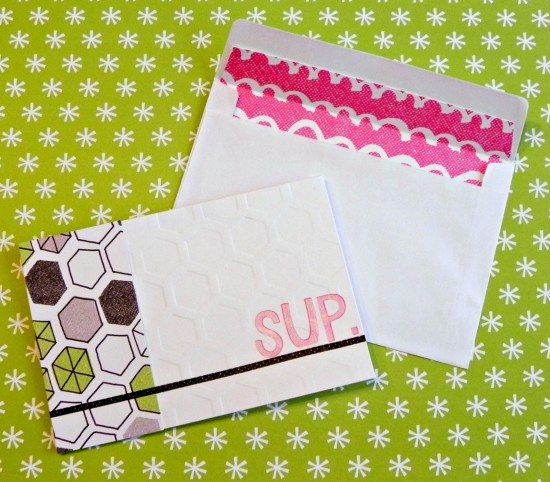 Amy Tangerine DIY Card