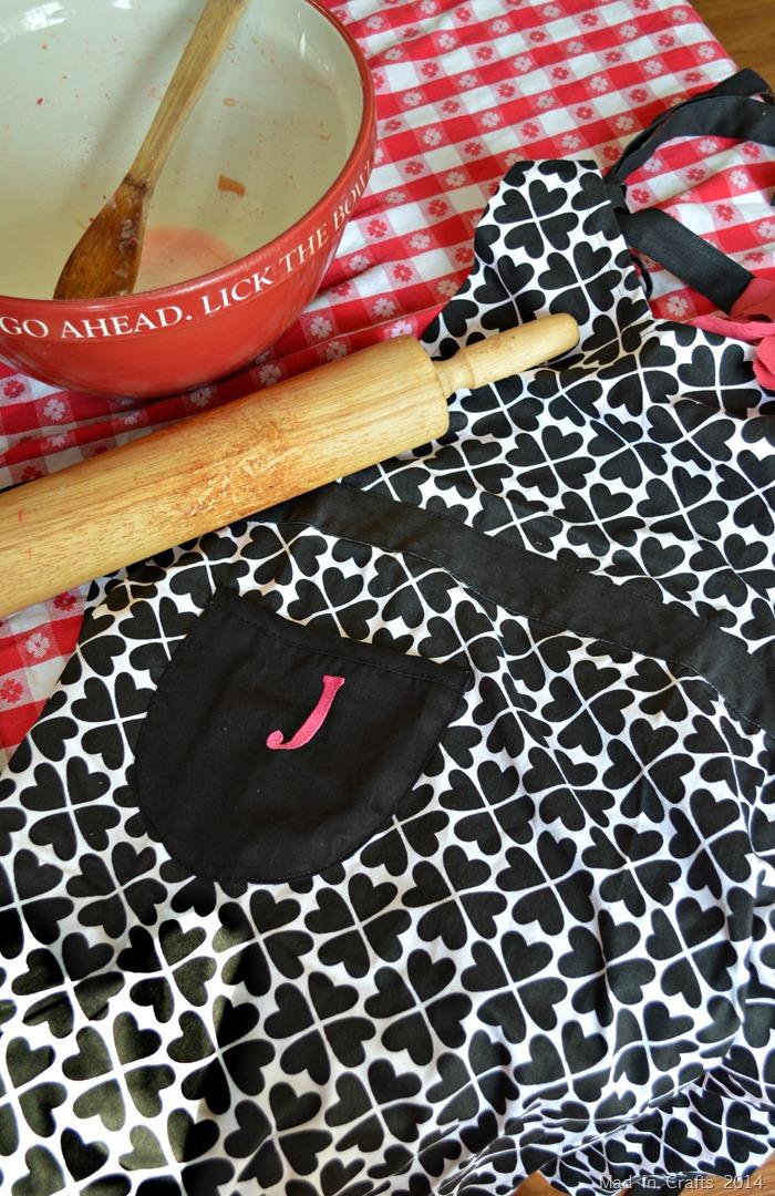 personalized apron