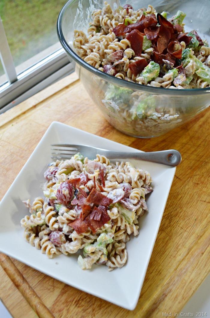 Lighter Harvest Pasta Salad