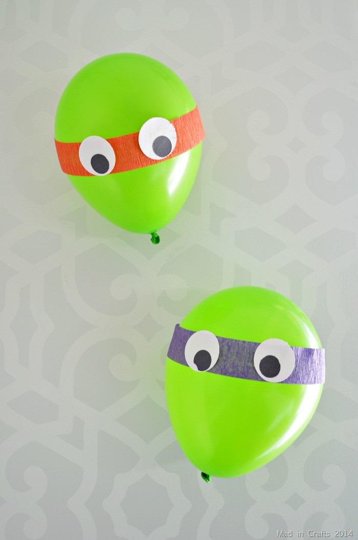 TMNT balloon decorations