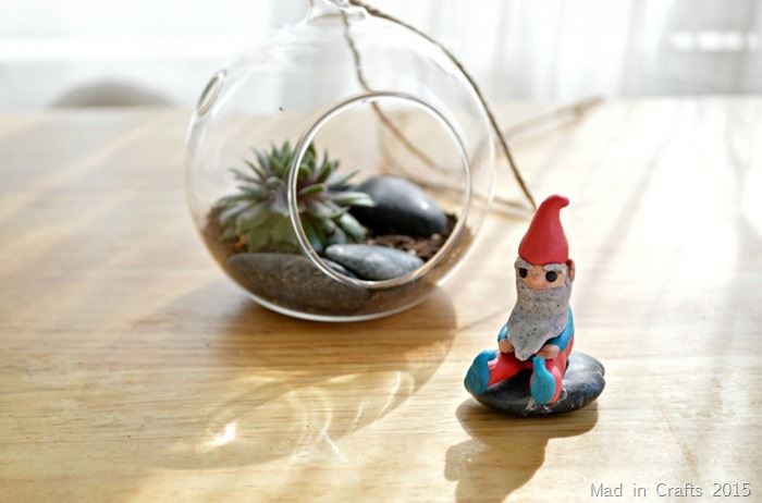 polymer clay gnome