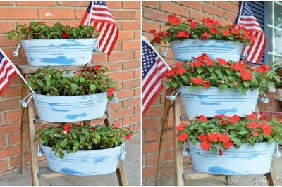 MIRACLE GRO® FED FLOWERS: BEFORE & AFTER