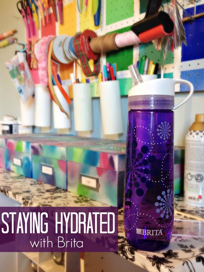 Staying Hydrated with Brita